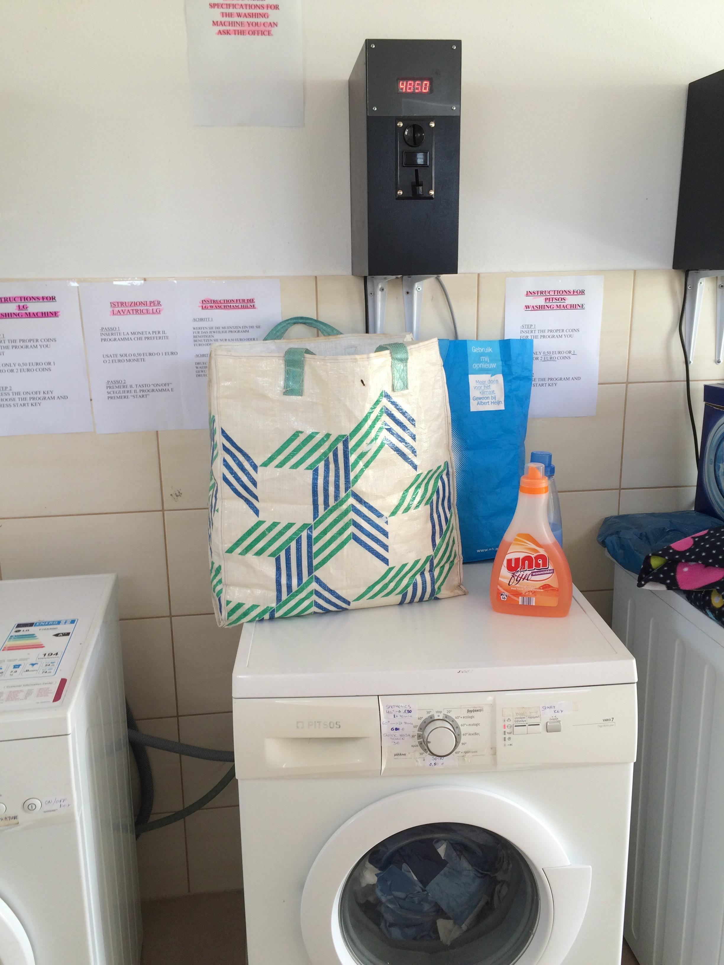 Wasmachine ipv handwas