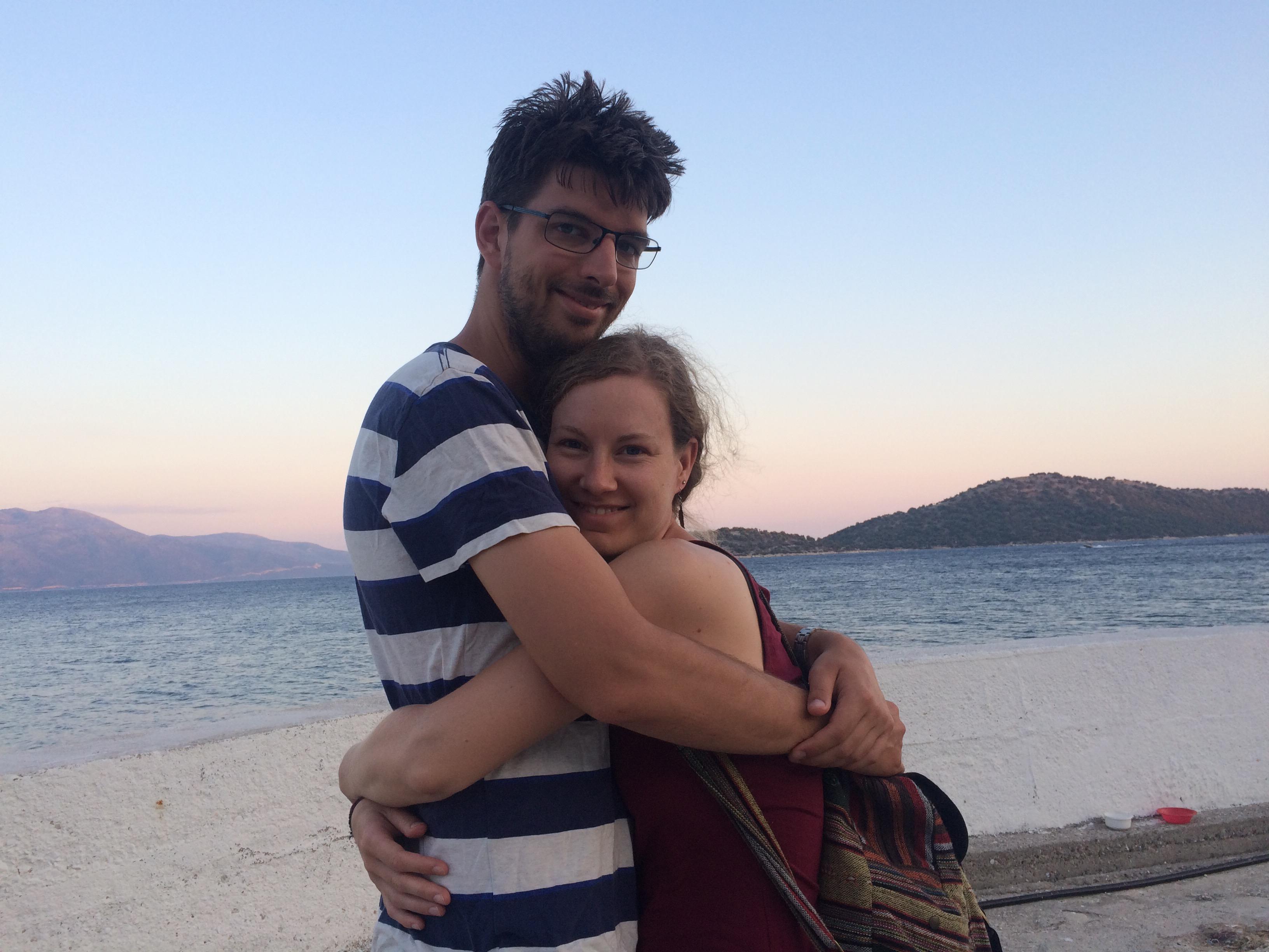 Tim en Sanne op Kalamos